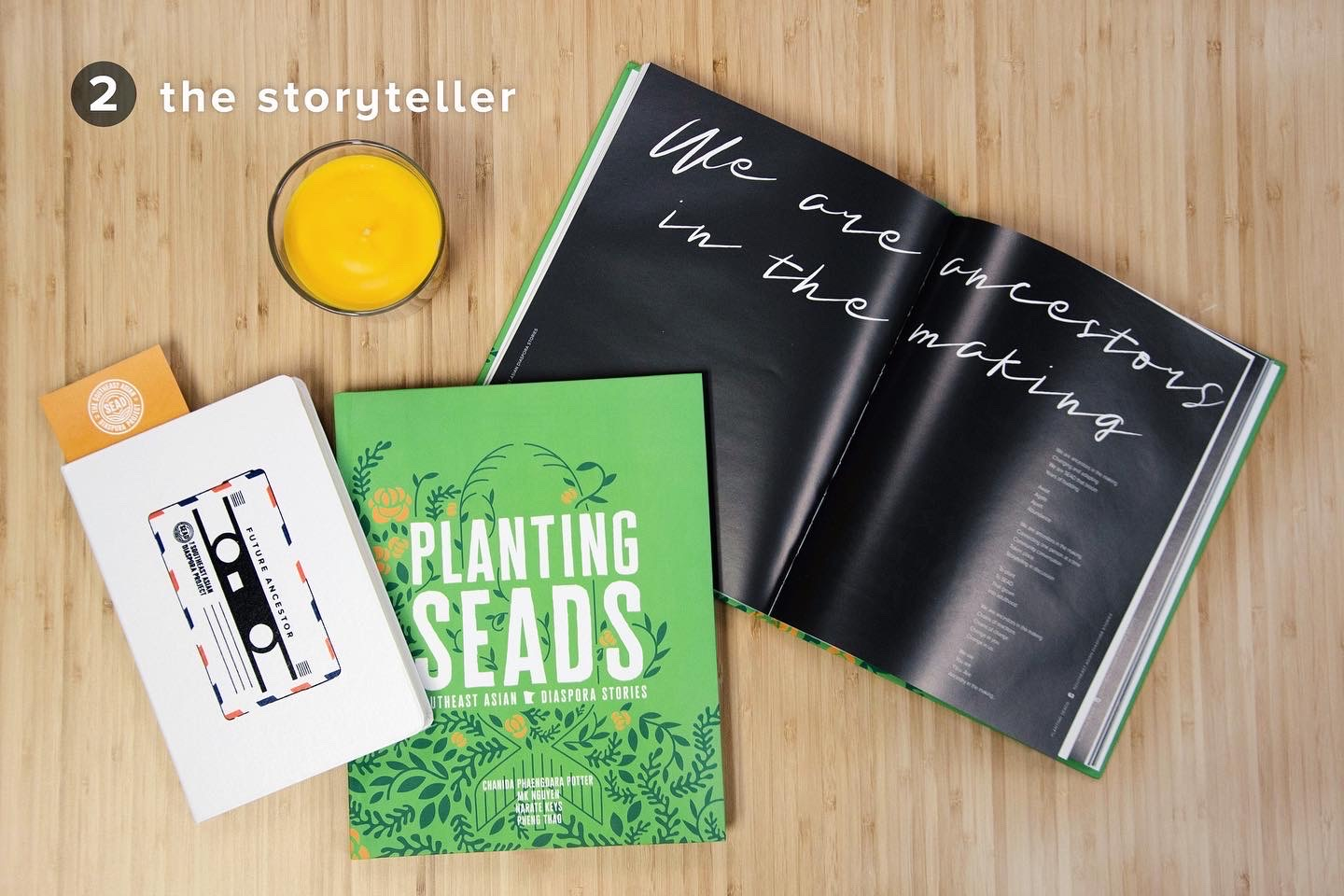 The Storyteller: Planting SEADS book and Dear Village journal